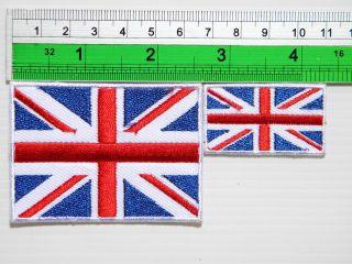 UK United Kingdom England British Flag Jacket t shirt Iron on