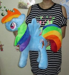 My Little Pony Friendship is Magic Rainbow Dash custom Handmade Plush