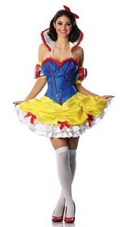 Once Upon a Time Snow White Costume Rose Red Fairytale Dwarves Apple