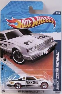 Hot Wheels Buick Grand National Performance  redlines 2011 BP