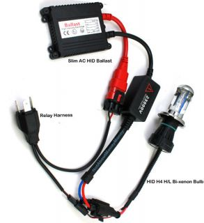 Hi/Lo 4300K 6000K 8000K Motorcycle Bike BI Xenon AC HID Headlight Kit