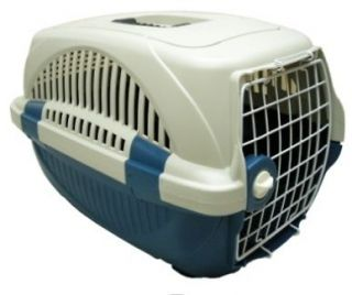 3pk) Blue Pet Carrier for your cat, small dog, guinea pig, rabbits