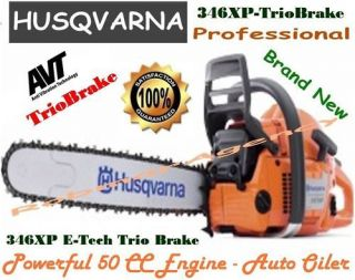 Husqvarna   346XP T   TrioBrake E Tech Pro Rated Chain Saw
