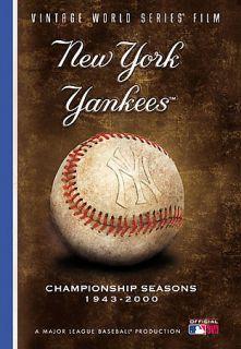 New York Yankees Vintage World Series Film DVD, 2006, 5 Disc Set