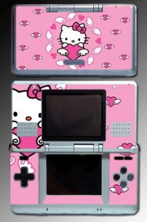 cute kitty princess pink hearts vinyl decal game skin cover