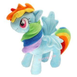 Handmade My Little Pony Friendship is Magic Rainbow Dash Plush Doll US