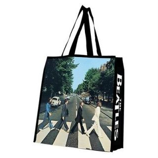 Rock Band ABBEY ROAD Album Cover LARGE SHOPPING TOTE GIFT BAG New