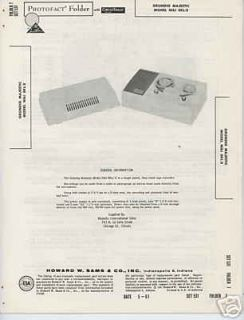 grundig majestic niki skl e tape recorder photofact time left