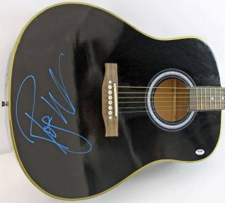ROGER WATERS PINK FLOYD AUTHENTIC SIGNED GUITAR PSA/DNA #P74128