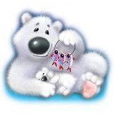 NEW FUNNY CUTE BABY TODDLER T SHIRT   Fuzzy Wuzzy Polar Bear
