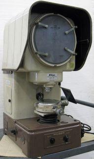 nikon 6c profile projector 11 optical comparator 10x