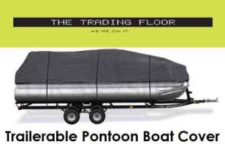 trailerable pontoon boat cover 25 28  94