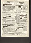 1961 crosman pneumatic air hahn pistol pellgun bb ad enlarge