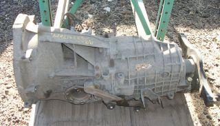porsche 99 01 996 6 speed manual transmission 81k mi