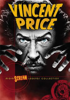 Vincent Price Gift Set   Volume 1 DVD, 2007, 5 Disc Set