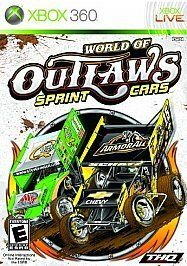 newly listed world of outlaws sprint cars xbox 360 2010