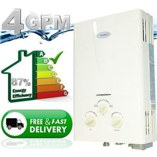 Propane Gas Tankless Hot Water Heater Instant On Demand Whole House 4
