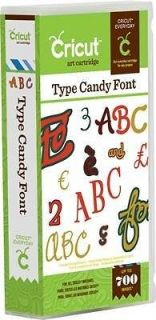 newly listed cricut type candy cartridge brand new time left