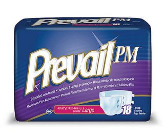 PREVAIL PM Extended Wear Brief Adult Disposable Diaper MEDIUM 96/CS