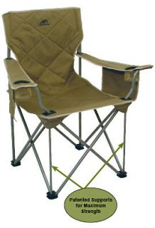 alps king kong extra large heavy duty camping chair time