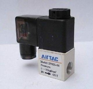 2v025 08 ac 220v pt1 4 solenoid valve 2 position