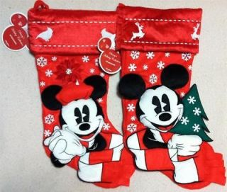 Newly listed New Disney Parks Christmas Stocking 20.5 Set of 2 Mickey