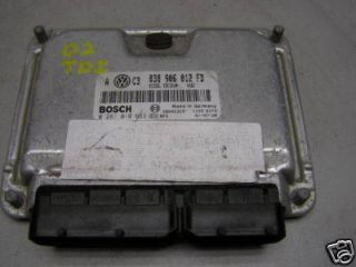ENGINE COMPUTER ECU ECM 1.9L ALH VW JETTA,GOLF,BEETLE TDI OEM 038 906