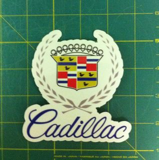 cadillac window logo car truck GM Decals /Stickers