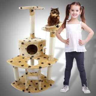 Newly listed Cat Tree 47 Kitten Condo Furniture Scratching Post Pet