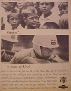 1965 BOY SCOUTS~SOAP BOX DERBY MEMORABILIA~TOY CAR BOYS~KIDS RACE