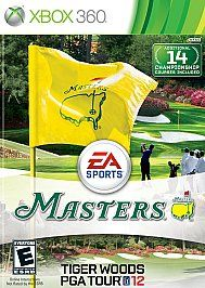 Tiger Woods PGA Tour 12 The Masters Xbox 360, 2011