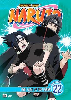 Naruto   Vol. 22 The Last of the Clan DVD, 2008, Dubbed Edited