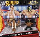 NEW Mattel WWE REY MYSTERIO Loose Action Figure Rumblers RAW Superstar