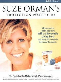 Suze Ormans Protection Portfolio The Forms You Need Today to Protect