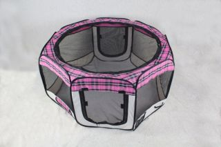 pet dog cat tent puppy playpen exercise play pen crate