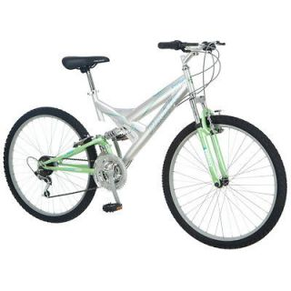 Pacific Chromium 26 Women Mountain Bicycle Bike Chrome Green 264173P