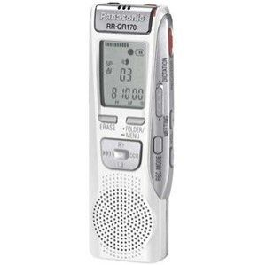 Panasonic RR QR170 16.5 Hours Handheld Digital Voice Recorder