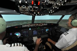 B737 Flight Simulator + Aerobatics Ultimate Thrill Ride Combo Package