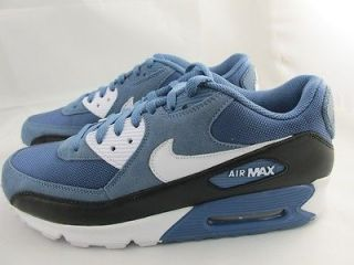 NEW MENS NIKE AIR MAX 90 325018 405 OCEAN FOG/WHITE BLAC​K