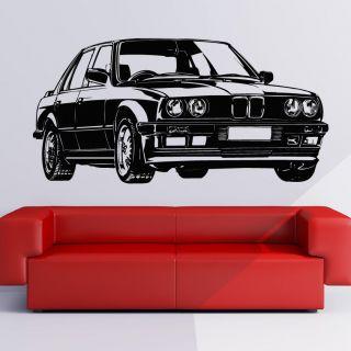 bmw car transport wall art decal wall stickers transfers location