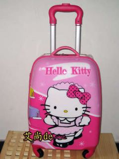 hellokitty 18 luggage bag baggage trolley roller pink from china