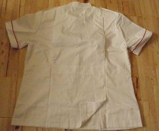 NEW Male Nurse Vet Dental Healthcare Uniform Jacket 44 46 48 chest