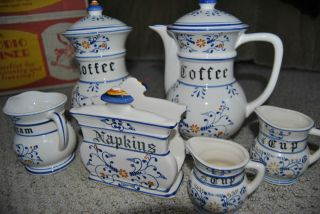 ROYAL SEALY JAPAN HERITAGE SALT BOX COFFEE CANISTERS CUPS AND MORE