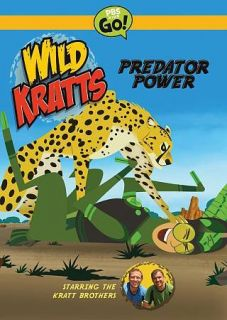 wild kratts predator power dvd