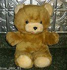 VINTAGE OLD STRAW STUFFED ANIMAL TOY TEDDY BEAR ANTIQUE