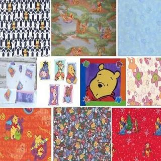 Winnie The Pooh & Friends Collection   Fabric Tote Bag & Appliques