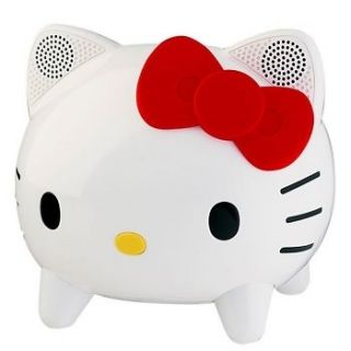 Hello Kitty Stereo Bluetooth Speaker System W/Remote iPod & iPhone