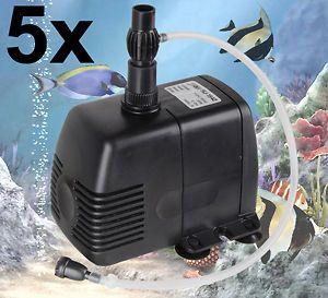 Submersible Water Pump Fountain Pond Aquarium Freshwater Saltwater Koi