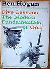 HOGAN CURT SAMPSON BEN HOGAN BIOGRAPHY GOLF 1ST 1996 HB BOOK