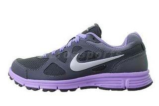 nike wmns revolution msl dark grey purple womens running shoes
